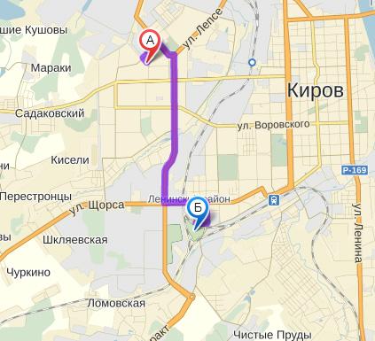 маршруты